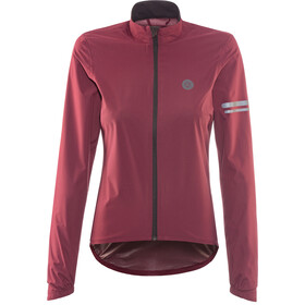 AGU Essential Veste imperméable Femme, wine